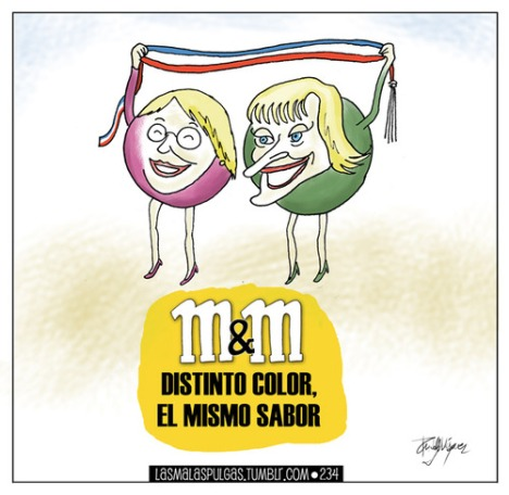 Bachelet y Methei, Distinto Color, el mismo sabor