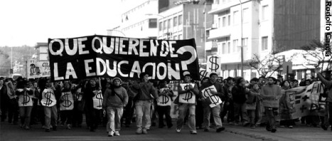 protesta-educacion chile