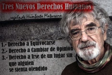 Derechos Humanos Humberto Maturana