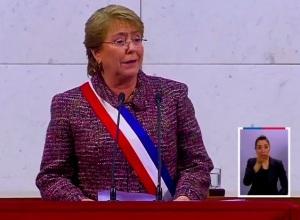 Presidenta Michelle Bachelet 21-05-2014