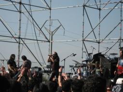 Alto Voltaje banda chilena