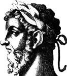 Representación de Marco Aurelio en la edición traducida de George Long Pensamientos de Marco Aurelio Antonino.