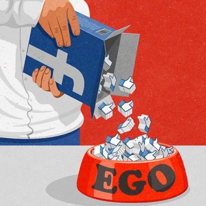 Facebook y ego