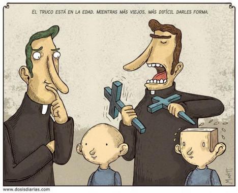 La religión merma la razón